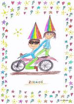 Motorrad im Zirkus
