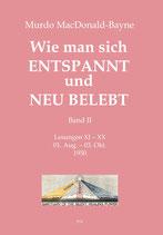 Band 2 - Lesungen XI - XX