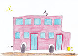 Roter Omnibus in London und so