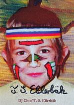 Autogrammkarte von DJ Chief T. S. Ellerbäh