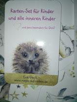 Kartenset für Kinder und Innere Kinder - wunderschön gestaltet von Eva Gach - Magie auf Reisen.