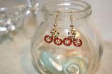 自転車ピアス(pierced earring)