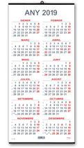 Calendari anual 23x49