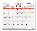 Planning mensual 30x24,7
