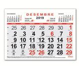 Calendari Mensual 21x15