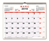 Planning mensual 30x24,7 espiral
