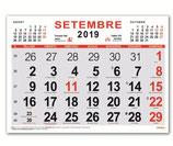 Calendari Mensual 43x31