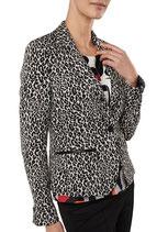 EXPRESSO jasje, blazer, HETTY, zwart/wit, Mt. 42