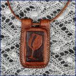 """Amulett Kette """"Glas"""""""