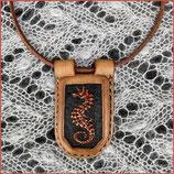 """Amulett Kette """"Seepferdchen"""""""