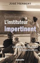 L'instituteur impertinent (complété par 20 pages d'impertinence)