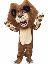 Löwe Maskottchen deluxe