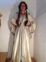 Renaissance Kleid weiss