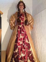 Renaissance Kleid Königin gold