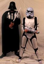 Darth Vader und Stormtrooper