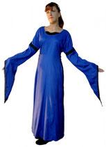 Kleid Mittelalter blau