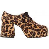 Herren Plateauschuhe Leopard