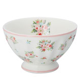 Bowl medium Abigail white I Greengate