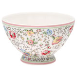 Bowl medium Vivianne white I Greengate