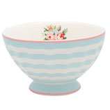 Bowl medium Nellie pale blue I Greengate