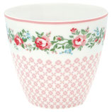 Latte Cup Gabby white I Greengate