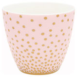 Latte Cup Gold spot peach I Greengate