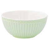 "Bowl ""Alice pale green"" I Greengate"
