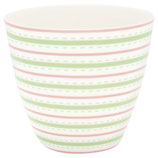 Latte Cup Sari white I Greengate