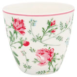 Latte Cup Constance white I Greengate