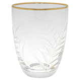 Greengate - Wasserglas gold