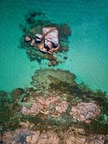 Fotoleinwand  EAGLE BAY - THE ROCK   Hochformat