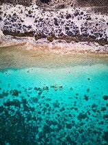 Fotoleinwand CORAL BAY - SHORELINE | Hochformat