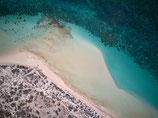 Gerahmtes Bild CORAL BAY - THE WAVE | Querformat