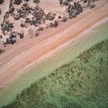 Fotoleinwand CAPE RANGE - GREEN WATER | Quadratisch
