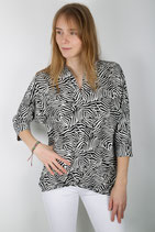CHIARICO TOP Wide zebra print