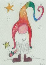 """Postkarte """"Der 1. Wichtel"""""""