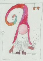 """Postkarte """"Der 2. Wichtel"""""""