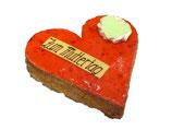 Herz Torte 24cm für 8 Personen