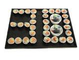 Zahlen Sushi Platte 30 Stück