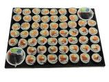 Sushi Platte 60 Stück