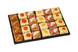 Canapé Platte klein 24 Stück für 4-5 Personen
