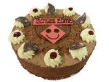 Torte rund 30 cm für 15 Personen