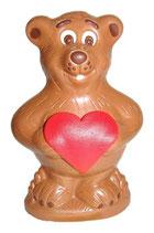 Schoggi Bär mit Herz