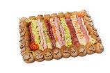 Fleischkäse Platte für 10 Personen