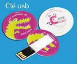 Clown et kamishibaï croco sur clé USB