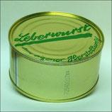 Leberwurst (fein) in der Dose