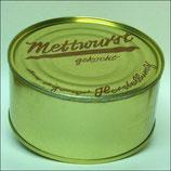 Mettwurst (gekocht) in der Dose