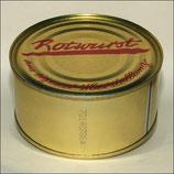 Rotwurst in der Dose
