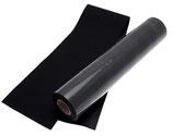 Stafil Futterstoff - Ökoleder - Breite 45cm - Länge 100cm - Farbe schwarz