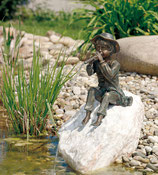Toni Bronzefigur (ohne Stein)